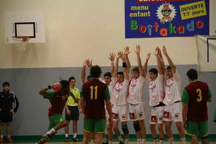 Portugal : Espanha - Torneio 4 Nações 84