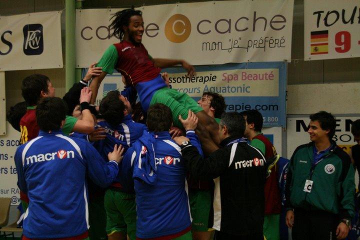 Portugal : Espanha - Torneio 4 Nações 100