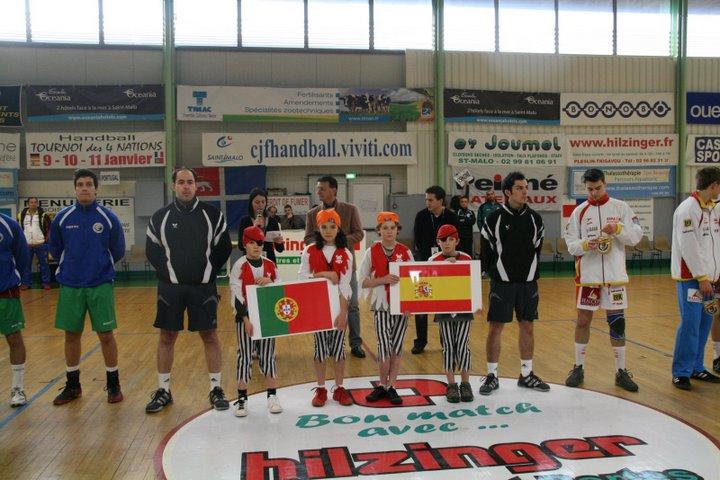 Portugal : Espanha - Torneio 4 Nações 18