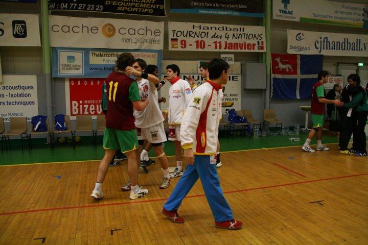 Portugal : Espanha - Torneio 4 Nações 95