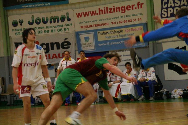 Portugal : Espanha - Torneio 4 Nações 71