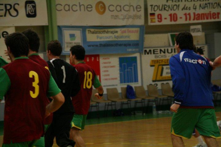 Portugal : Espanha - Torneio 4 Nações 90