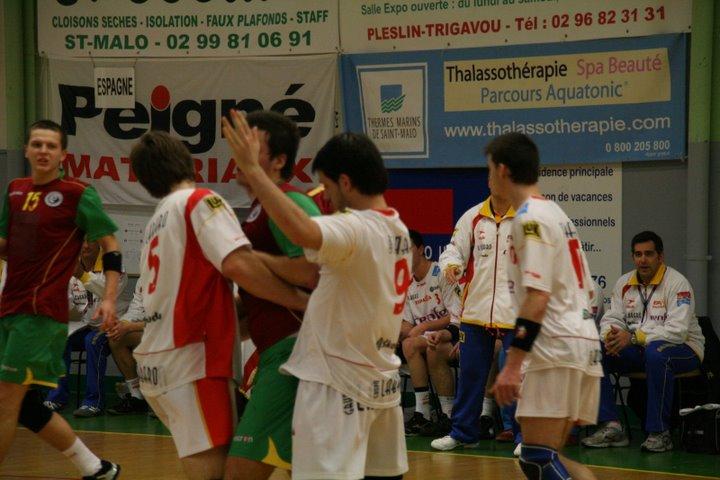 Portugal : Espanha - Torneio 4 Nações 68