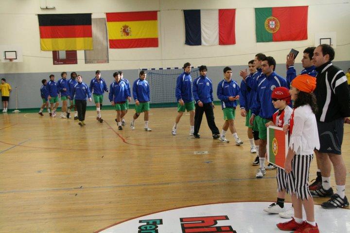 Portugal : Espanha - Torneio 4 Nações 16