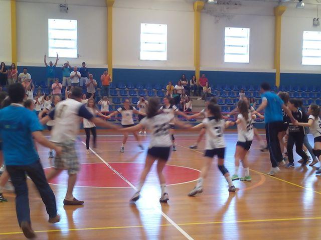 Festa do ARC Alpendorada - equipa vencedora fase apuramento campeonato nacional iniciados femininos
