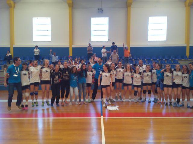 ARC Alpendorada - equipa vencedora fase apuramento campeonato nacional iniciados femininos
