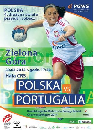 Cartaz Polónia - Portugal