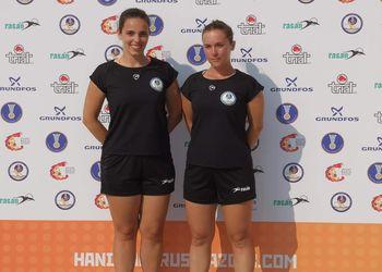 Ana Barbosa e Nádia Lemos - Campeonato do Mundo de Andebol de Praia 2018