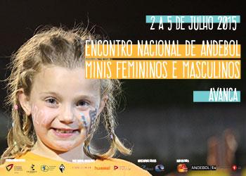 Cartaz Encontro Nacional de Minis - Avanca