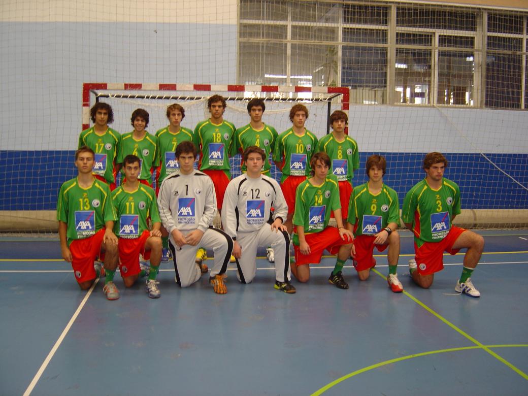 Selecção Junior C masculina 2007/08