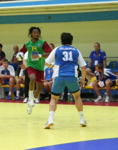 Campeonato Europeu Sub20 Masculino Roménia 2008 - Rússia : Portugal - Wilson Davyes
