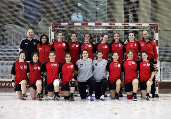 Juventude D. Lis - Fase final do Campeonato Nacional de Juvenis Femininos 2011-12 - foto de José Lorvão
