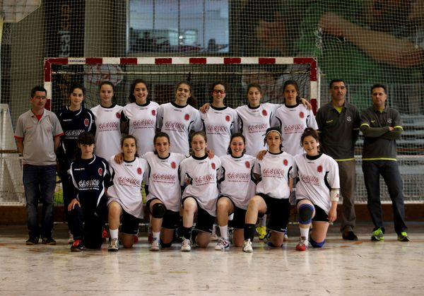 Valongo do Vouga - Fase final do Campeonato Nacional de Juvenis Femininos 2011-12 - foto de José Lorvão