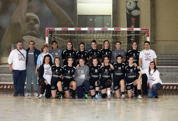 AD Sanjoanense - Fase final do Campeonato Nacional de Juvenis Femininos 2011-12 - foto de José Lorvão