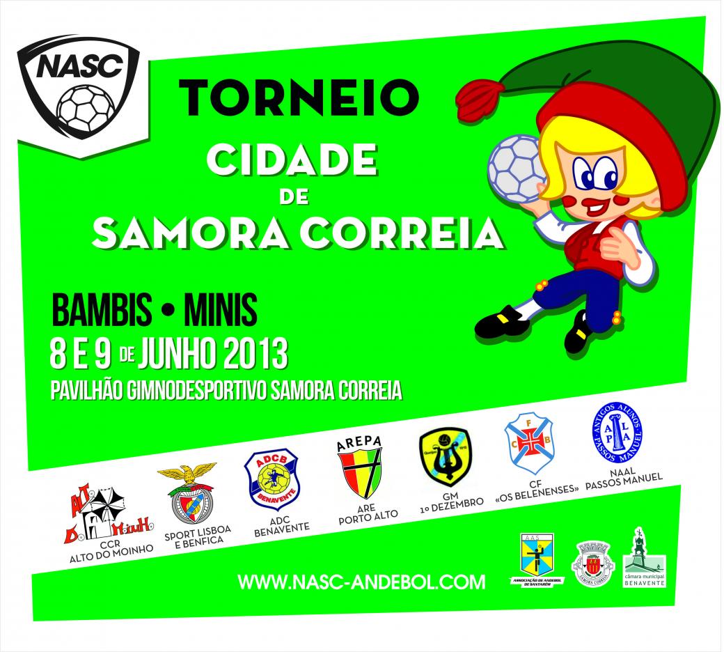 Cartas Torneio Bambis e Minis de Samora Correia