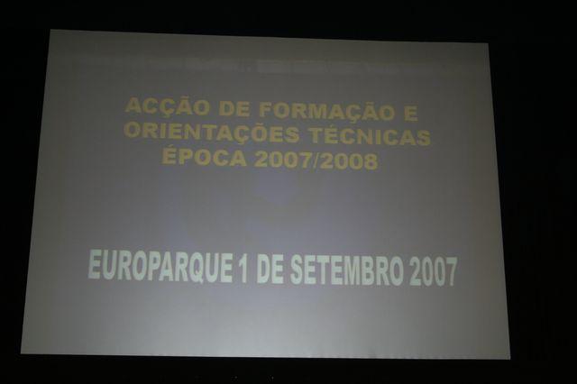 Acção de Formação e Orientações Técnicas e Abertura do Portal