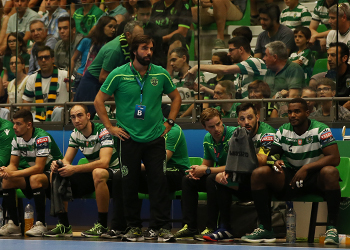 Hugo Canela - Sporting CP - Velux EHF Champions League 2018-2019 - foto: PhotoReport.In