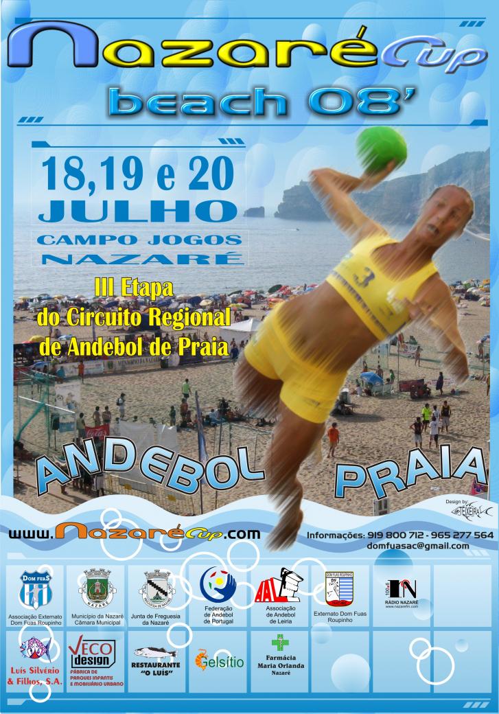 Andebol Praia - Nazaré - 3ª Etapa
