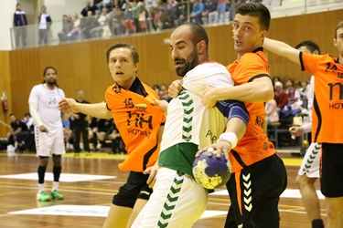 João Ferraz no jogo Portugal-Holanda - Torneio Terras do Demo - Moimenta da Beira - Abril 2016