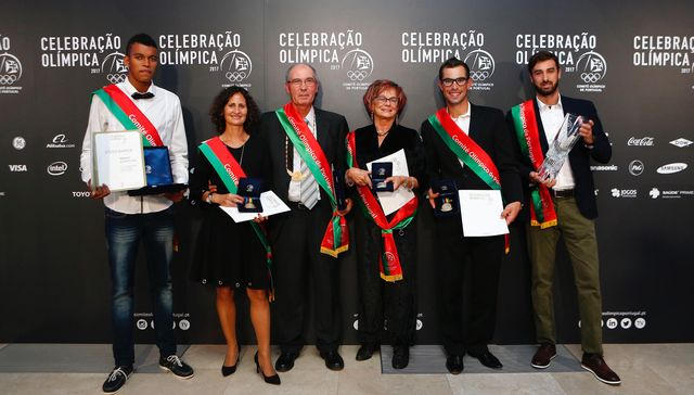 Galardoados COP na Celebração Olímpica - foto: COP