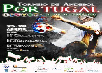 Cartaz Torneio de Portugal - Fafe 2011