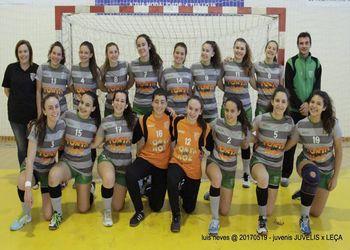 CA Leça - Apuramento Campeonato Nacional Juvenis Femininos - foto: Luís Neves