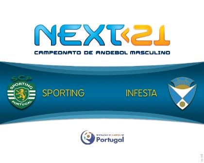 Logo Sporting CP - FC Infesta