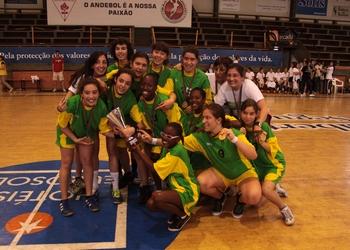 SIM Porto Salvo - campeãs nacionais inic. fem. - 2.ª div. 2011-12