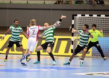 Sporting CP : HC Motor Zaporozhye - EHF Velux Champions League