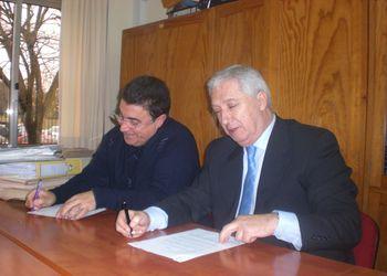 Assinatura protocolo Federação - Escola  D.Pedro IV, Mindelo