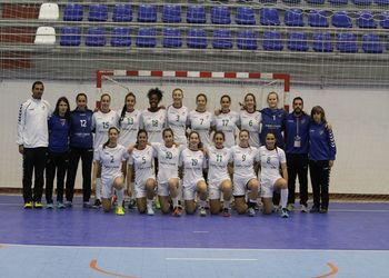 Selecção Nacional Juniores B Femininas 2015-2016 -  foto: António Oliveira