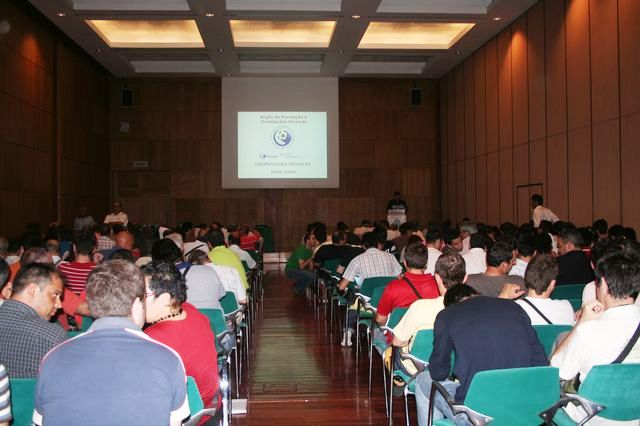 Acção Formação Orientações Técnicas - Europarque 29.06.08 - Quadros Arbitragem - Intervenção de Pedro Sequeira