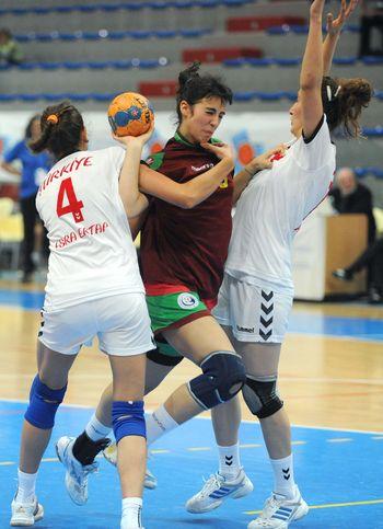 5º Campeonato do Mediterrâneo - Selecção Nacional Junior B Feminina - Portugal : Turquia