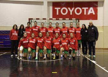 Selecção Nacional Junior A Feminina 2013-14