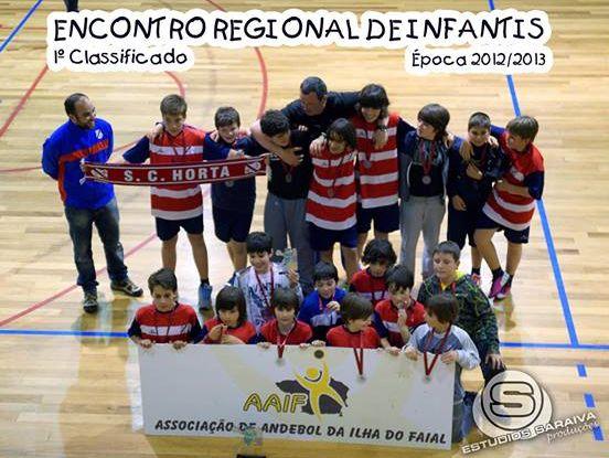 Sporting Club da Horta vencedor do Campeonato de Infantis Masculinos dos Açores