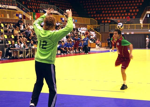 Campeonato Europeu Sub20 Masculino Roménia 2008 - Portugal : Alemanha - Tiago Pereira