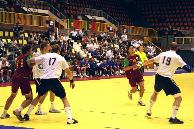 Campeonato Europeu Sub20 Masculino Roménia 2008 - Portugal : Alemanha - Pedro Maia
