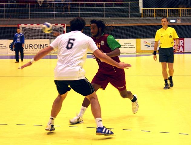 Campeonato Europeu Sub20 Masculino Roménia 2008 - Portugal : Alemanha - Wilson Davyes