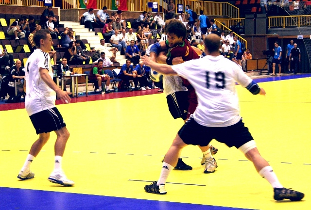 Campeonato Europeu Sub20 Masculino Roménia 2008 - Portugal : Alemanha - Fábio Magalhães