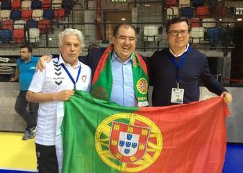 Portugal festeja em Israel - Augusto Roxo, João Queimado e Augusto Silva