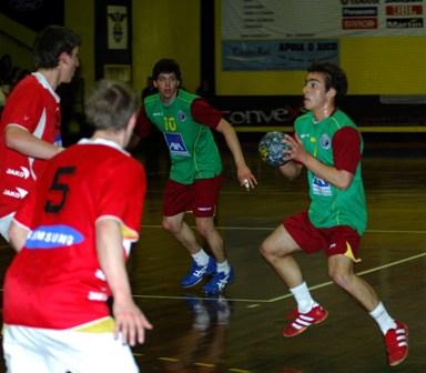 Portugal : Áustria - Qualificação Ech Sub18 Masculinos, Guimarães 2
