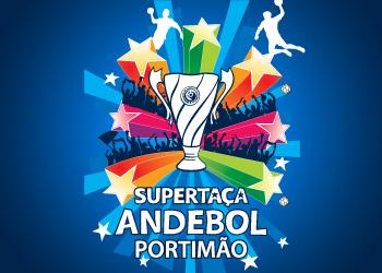 Logo Supertaça Andebol Portimão 2010 - azul
