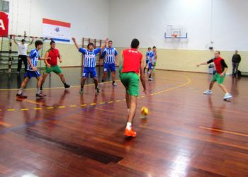 Jogo treino Seleção Nacional de Andebol da ANDDI - Juvenis FC Pedras Rubras