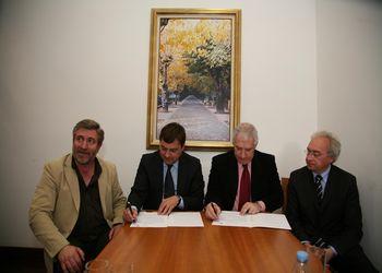 Assinatura do Protocolo de Parceria entre Federação e Câmara Municipal de Resende