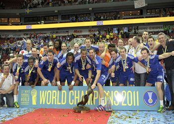 França - campeã do Mundo Suécia 2011
