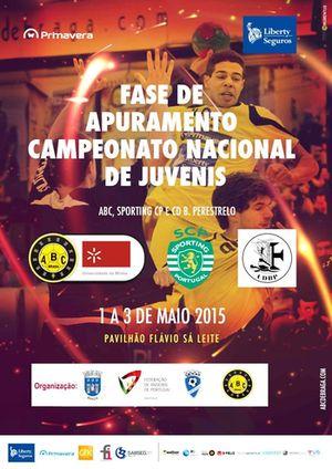 Cartaz Fase de Apuramento do Campeonato Nacional de Juvenis Masculinos