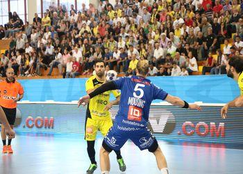 Nuno Grilo - ABC/UMinho : TTH Holstebro - EHF Champions League - foto: Nuno Fonseca