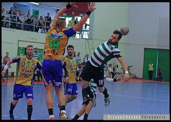 Sporting CP : AHC Potaissa Turda - 1ª mão final Challenge Cup - foto: Ricardo Rosado