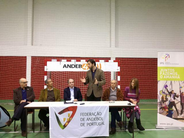 Conferência de imprensa - apresentação Selecção Nacional Andebol em Cadeira de Rodas