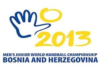 Logo Campeonato do Mundo Sub21 Bósnia Herzegovina 2013